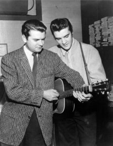 Sam Phillips and Elvis