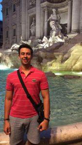 Italian Studies student Alessandro Sano