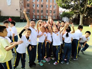 students to teach in China