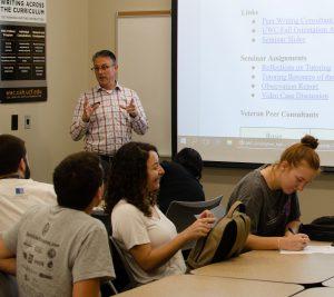UCF Writing Center classroom
