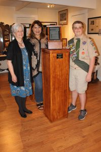 Eagle Scout Enhances Museum Experience through RICHES Collection
