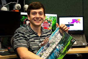 FIEA student Aaron Cendan is focused on making video games more accessible to everyone