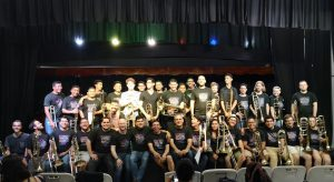 All participants of the Festival Internacional Trombones de Costa Rica. Participants came from Costa Rica, Guatemala, Honduras, Peru, Puerto Rico, Nicaragua and the United States.
