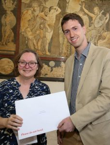 Hardy Receives Gladstone Prize