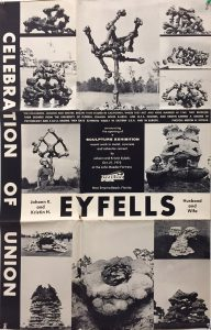 Poster of Eyfells Exhibition