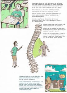 Nathan Holic's drawings about spine curvature.