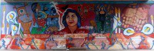 Mural of Dolores Huerta by Yreina Cervántez