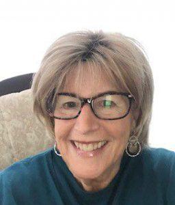 Pat Angley smiles
