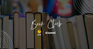 A banner image of the UCF Alumni Book Club