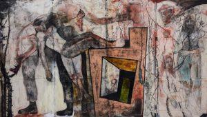 Art panel by Robert Rivers