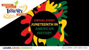 Virtual Event: Juneteenth in American History